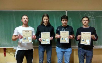 Още една награда по физика за ПЧМГ