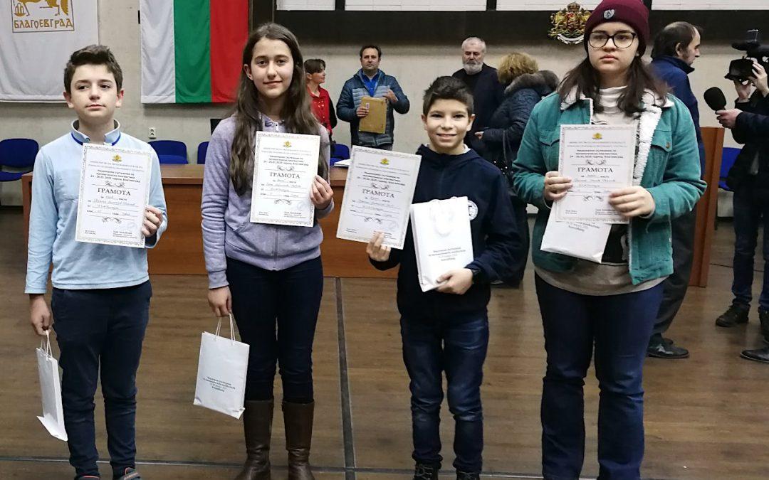 Успех на националното състезание по математическа лингвистика