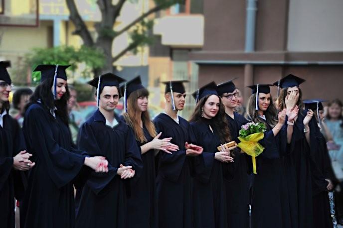 Дипломиране на випуск 2020 г. на Първа частна математическа гимназия