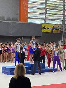 Още медали за Дани Трифонов в спортната гимнастика