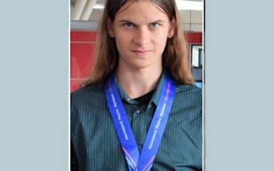 Медал за Васил Николов от Балканската олимпиада по физика