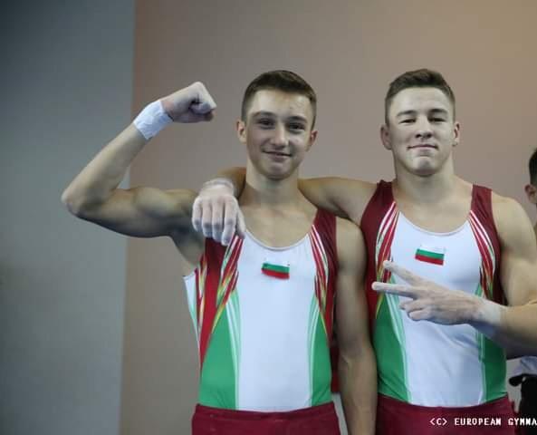 Ученик на ПЧМГ с отборен медал от Европейско първенство по спортна гимнастика