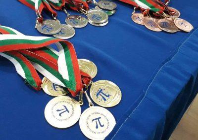 XVII Математически предизвикателства победители 2021 година.